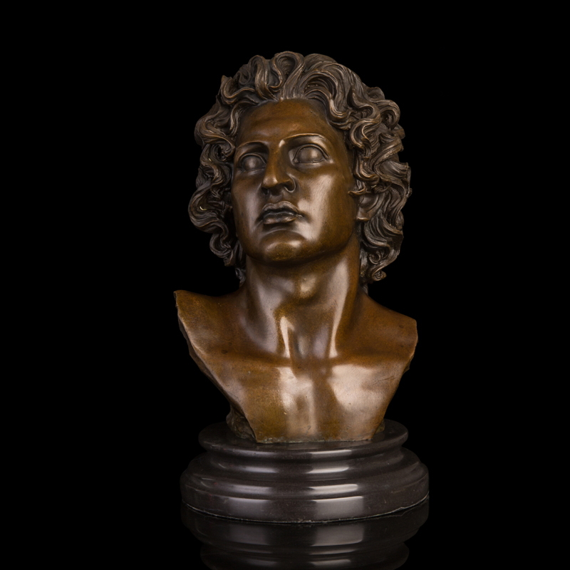 Arts Crafts Copper Best Selling Famous Figure Sculpture Man Bust Bronze Statue Souvenir Gifts Home Office Decoration WholesaleArts Crafts Copper Best Selling Famous Figure Sculpture Man Bust Bronze Statue Souvenir Gifts Home Office Decoration Wholesale