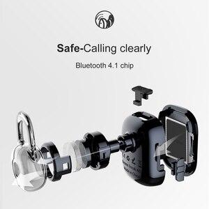 Image 3 - Baseus Encok אחת ב אוזן אוזניות מתכת כבד בס איכות צליל מוסיקה אוזניות מיני bluetooth אוזניות fone דה ouvido sem fio