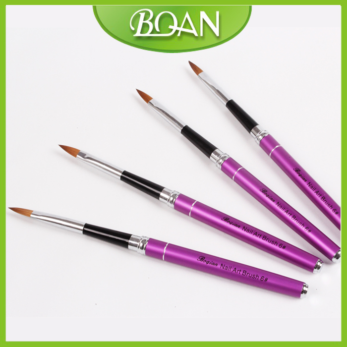 Boqian Factory Direct Pure Kolinsky Nail Art Brush Pen Size 4-in ...