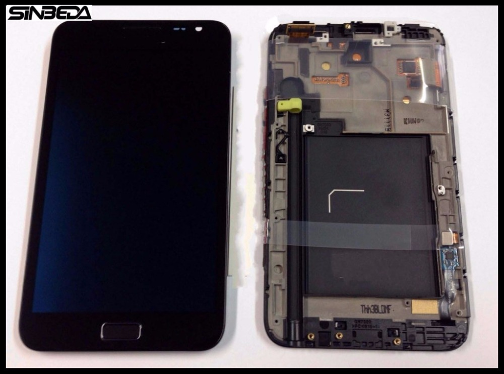Sinbeda AMOLED LCD Display For Samsung Galaxy Note I9220 N7000 LCD Screen And Touch Screen Digitizer