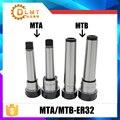 MT3 ER32 mt3 er32 Collet chuck handle 3# Morse Cone Milling Chuck handle Taper MT3 Toolholder Clamp CNC part MTB3 ER32