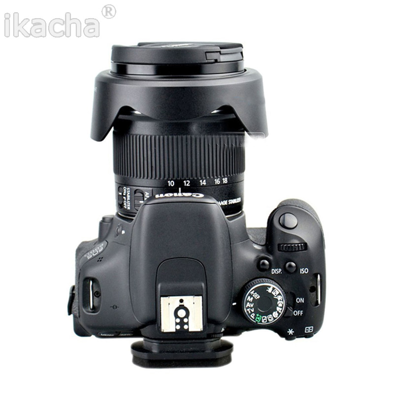 Camera Accessories EW 73C EW-73C Lens Hood Shade For Canon EF-S 10-18mm f/4.5-5.6 IS STM Free Shipping 5