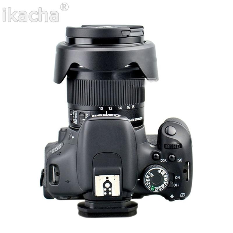 Camera Lens Hood EW-73C EW 73C Petal Buckle Lens Hood 67mm For Canon EOS EF-S 10-18mm F4.5-5.6 Lens 6
