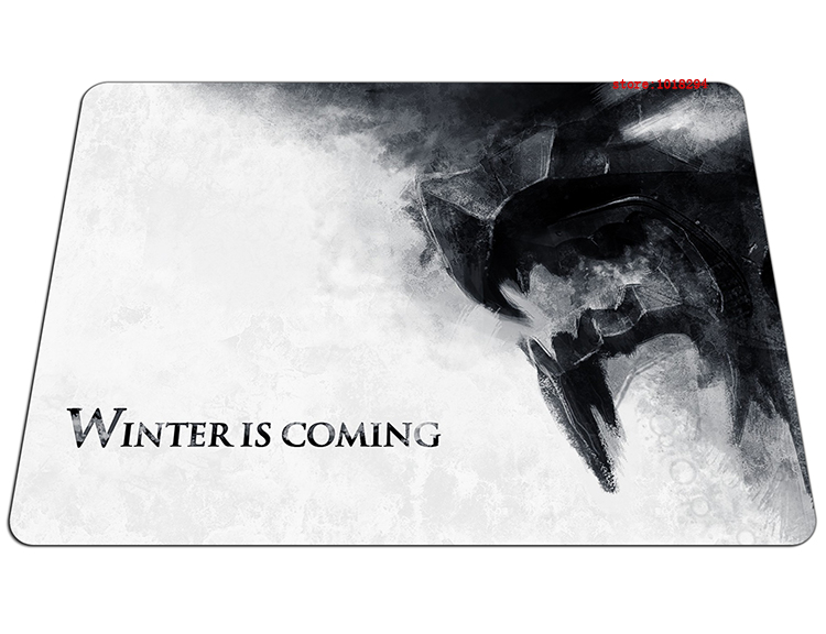 Game of Thrones mouse pad gear mousepads Customized best gaming mouse pad gamer large personalized pad mouse keyboard pad
