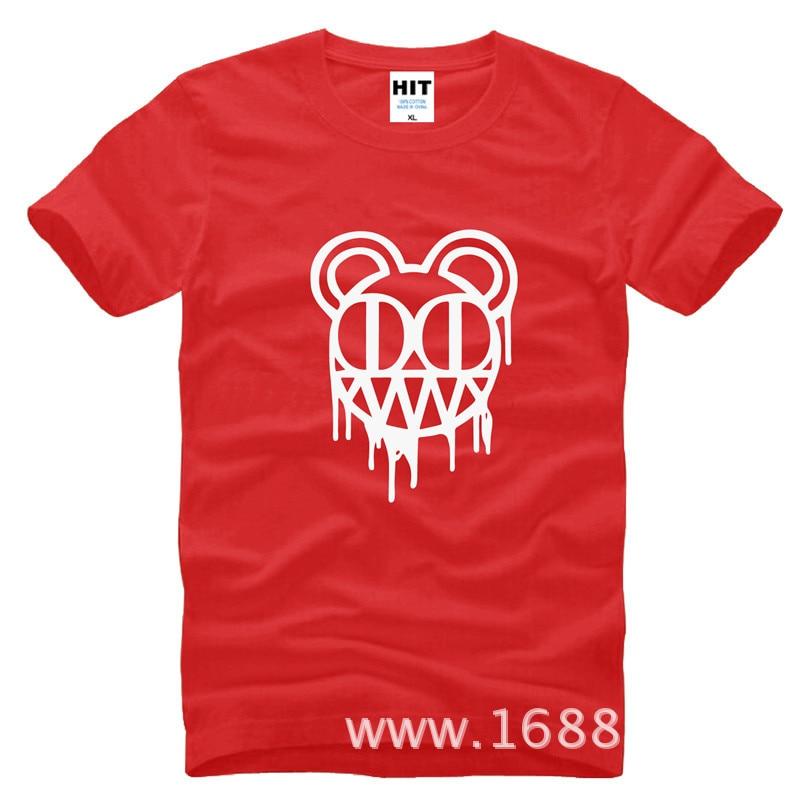 Radiohead rockband Herrman T-shirt Tröja för mode 2015 New Short - Herrkläder - Foto 6