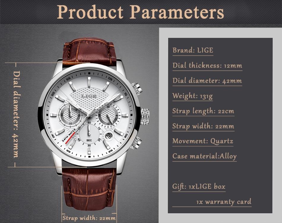 HTB1gKGYaMKG3KVjSZFLq6yMvXXac LIGE 2020 New Watch Men Fashion Sport Quartz Clock Mens Watches Brand Luxury Leather Business Waterproof Watch Relogio Masculino