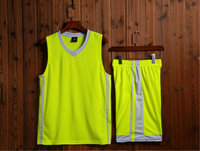 new Basketball suits for Adult/Chilren,Polyester FAST DRY Basketball training match can Custom number and name S 5XL