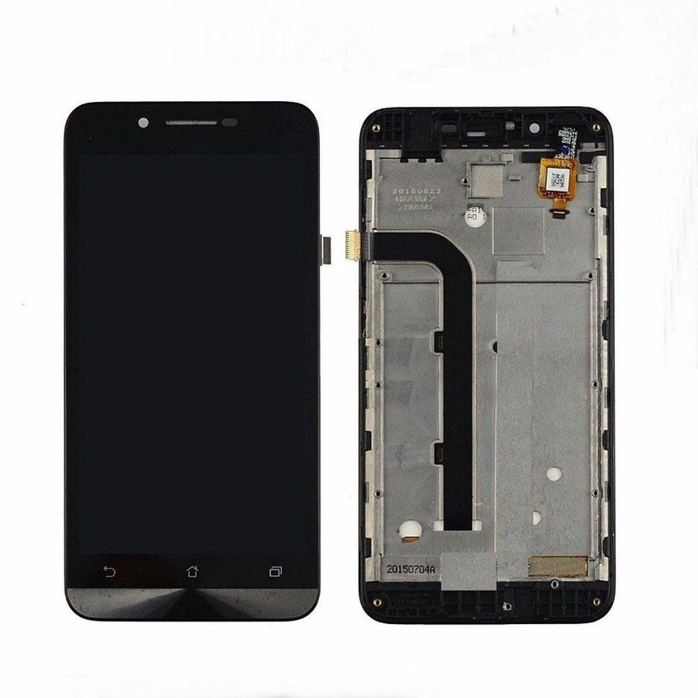 5.0 720x1280 LCD Display Glass Panel Touch Screen Digitizer Assembly with frame Replacem ...
