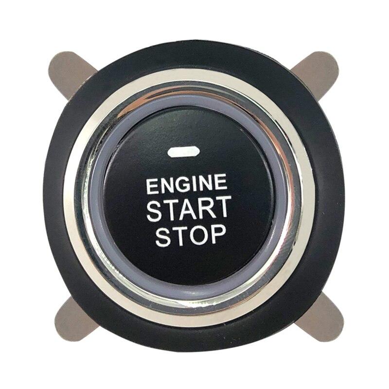 Système automatique d'entrée sans clé de voiture un bouton d'arrêt de démarrage avec le système d'alarme de voiture de démarreur à distance - 3