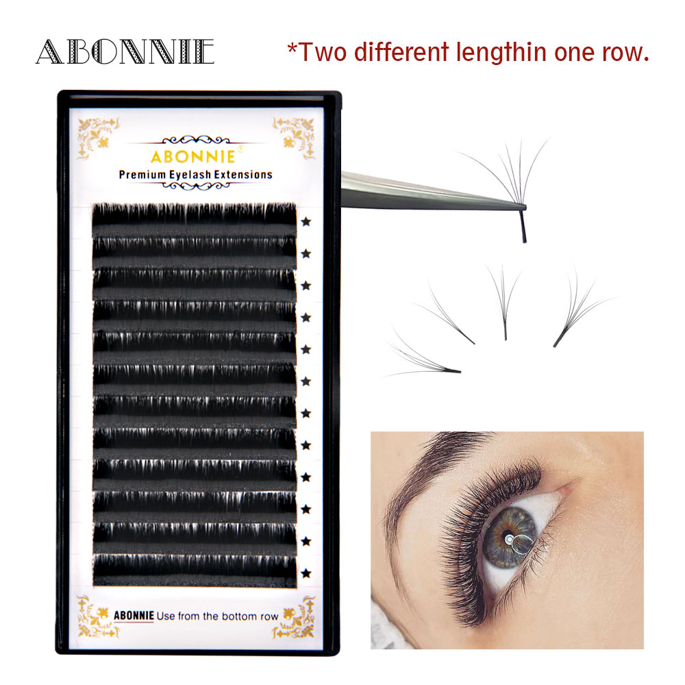 Magic Lashes New Arrived Blooming Eyelash Volume Effect False Eyelash Easy Fan Lashes And Automatic Flowering Eyelash Extension