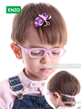Baby Girl's Boy's Glasses Size 42mm with Cord No Screw, One-piece Flexible Toddler, Bendable Children Glasses Frame