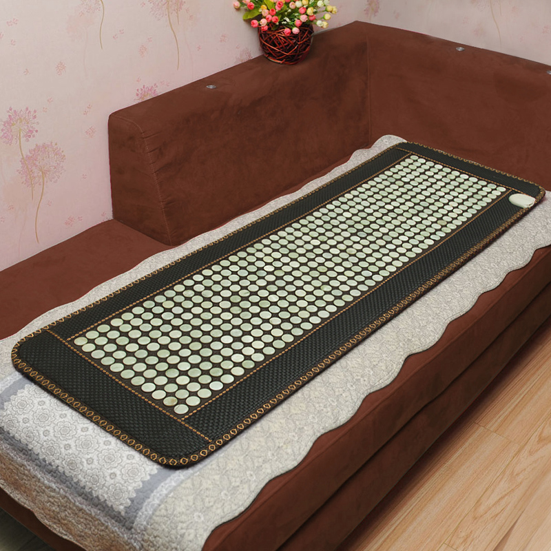 The new 2017 comfortable jade germanium stone sofa cushion ms tomalin germanium stone care body massage massage mattress heating