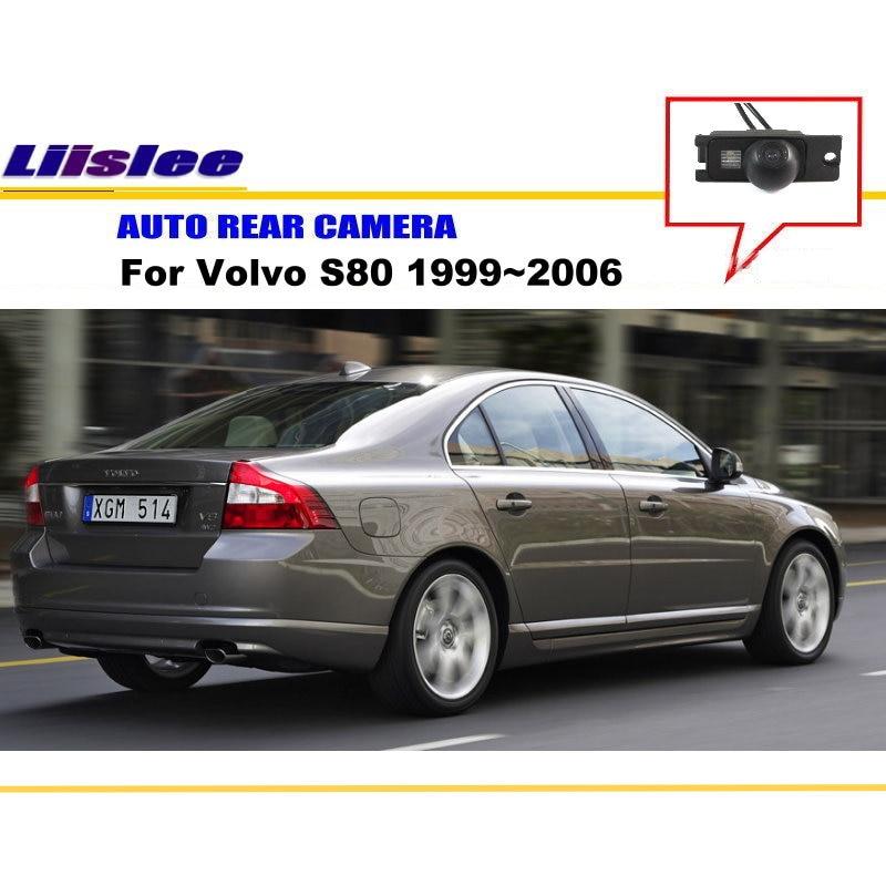 Liislee vue arrière caméra de recul caméra de stationnement pour Volvo S80 1999 ~ 2006/installation de la lumière de la plaque d'immatriculation/Vision nocturne