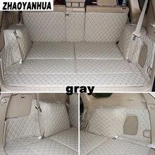 Ajuste personalizado mat mala do carro para Toyota land cruiser prado 150 abrangente de Todos Os 5 assentos/7 assentos de carro 5D styling (2007-2017)