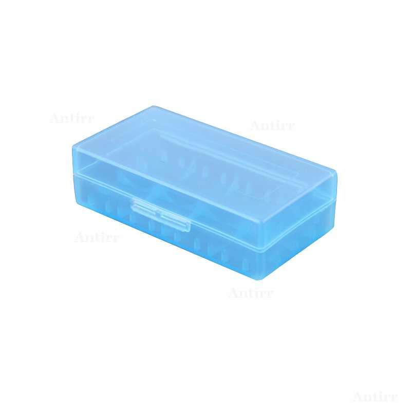 18650x2 فتحة البلاستيك حالة البطارية بطاريات الخليوي الغيار الناقل حامل صندوق تخزين CR123A 16340 R123A 17670 4X 18350 حاوية