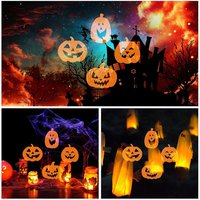 ICOCO 4W 4 LED Projector 5 Types Spotlight Lamp For Christmas Halloween Decor Outdoor Party For