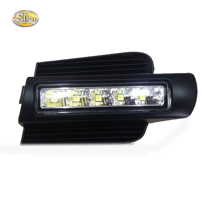 SNCN LED Daytime Running Light for Toyota Prado 120 LC120 GRJ120 Land cruiser 2003~2009 Fog lamp drl bumper light купить