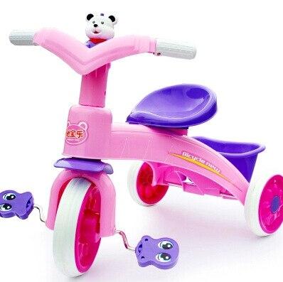 Monter sur des jouets pour filles garçons tout-petits équitation vélo ScooterBaby poussette Tricycle chariot chariot vélo roues marcheur