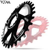 Cigüeñal de bicicleta GXP Al 7075 CNC32T 34T rueda de cadena ancha estrecha para Sram XX1 XO1 X1 GX XO X9 piezas de bicicleta mtb