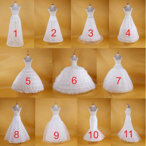 2018 Wedding Girls Wholesale In Stock Crinoline Petticoat All Style TuTu Hoop Underskirt Bridal Petticoats Prom Dress Rockabilly
