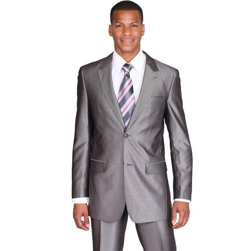 Popular Silver Slim Fit Suit for Men-Buy Cheap Silver Slim Fit