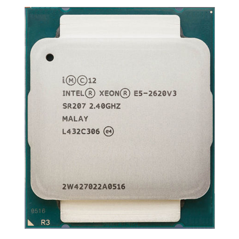 Intel Xeon E5-2620 V3 E5 2620V3 E5-2620 V3  LGA 2011-V3 6 Core 2.40 GHz 15MB 85W CPU Processor P/N: E5-2620V3