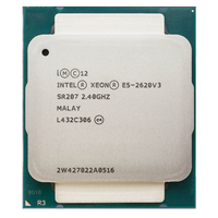 Intel Xeon E5 2620 V3 E5 2620V3 E5 2620 V3 LGA 2011 V3 6 Core 2.40 GHz 15MB 85W CPU Processor P/N: E5 2620V3