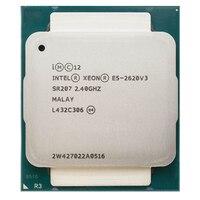 Intel xeon E5-2620 v3 e5 2620v3 E5-2620 v3 lga 2011-v3 6 núcleo 2.40 ghz 15 mb 85 w processador central p/n: E5-2620V3