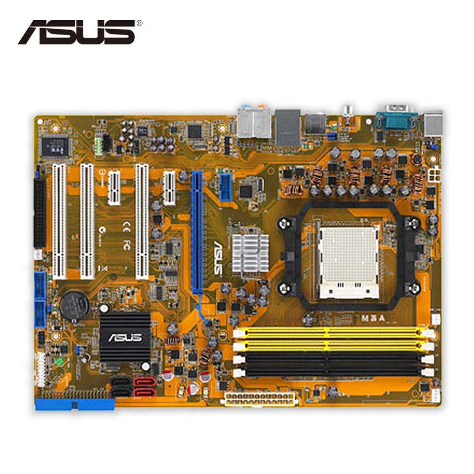 все цены на  Asus M3A Desktop Motherboard 770 Socket AM2+ DDR2 SATA II ATX Second-hand High Quality  онлайн