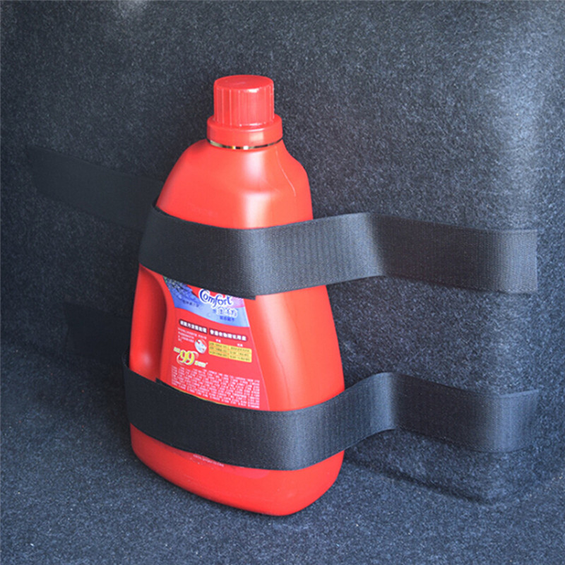 4pcs set Safety Strap Kit font b Accessories b font Car Trunk Store Rapid Fire Extinguisher