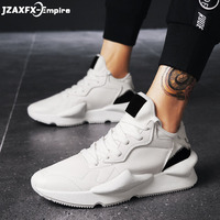 2018 New Men Patchwork Casual Sneaker Lace up Fashion Shoes tenis masculino adulto Top Quality Male Casual Shoes