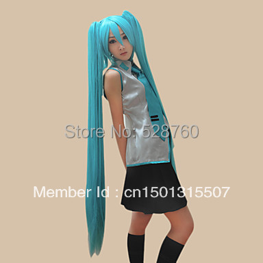 Cosplay Wig Inspired by Vocaloid Hatsune Miku  Free shipping