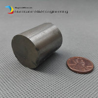 2 pcs SmCo Magnet Disc Dia 25x30 mm cylinder grade YXG24H, 350degree C High Temperature Permanent Rare Earth Magnets