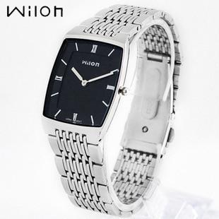 Wristwatches Original HK Brand Wilon Top Quality slim two -pin fashion casual Men