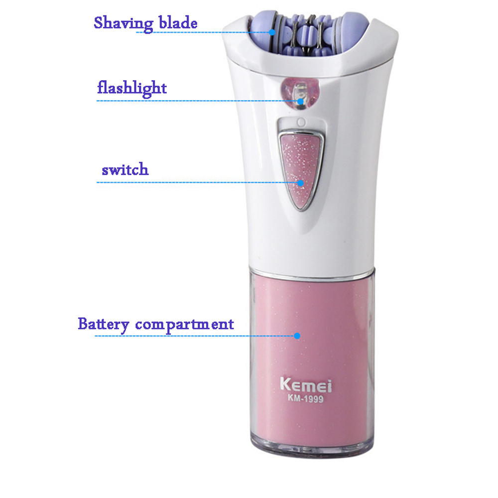 USB Electric Epilator Mini Lady Armpit Hair Shaver Travel Bikini Hair Removal Device Female Razor Tool #30-9