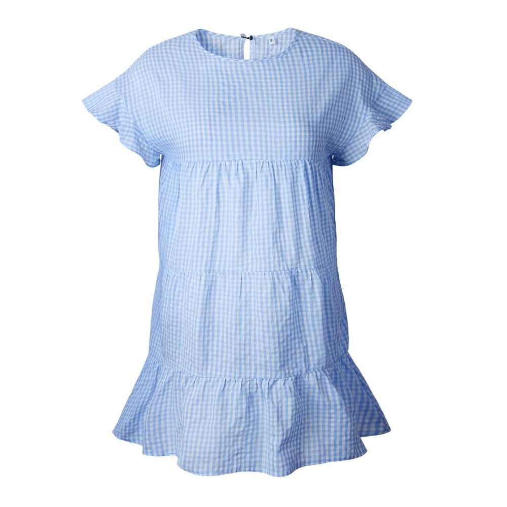 2019 весна лето платье женское повседневное плюс размер сексуальный о-вырез мини пляжное платье А-силуэта элегантные офисные платья Сарафан vestidos