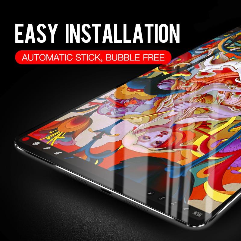 Härdad skyddsglasögon för 2017 Ny iPad 5th 2018 6: e generation - Surfplatta tillbehör - Foto 5