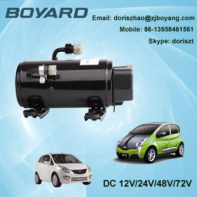 Zhejiang boyard R134A brushless dc 48v compressor KFB135Z48 1780 W for portable air conditioner for cars made in china boyard 12 24v compressor of portable air conditioner for cars portable freezer portable drink cooler