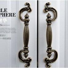 96mm Bronze Kitchen Cabinet Pulls Antique brass Drawer Dresser cupboard wardrobe rustico vintage Furniture handles pulls knobs