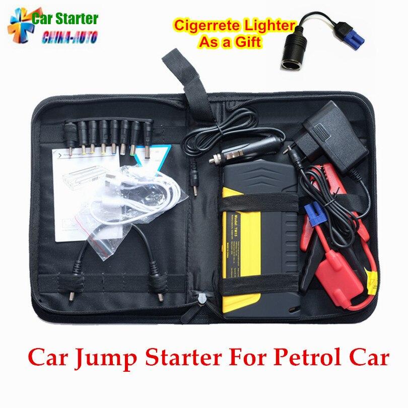 Démarreur de saut de voiture Portable dispositif de démarrage batterie externe Mobile 600A chargeur de voiture pour voiture batterie Booster essence Buster