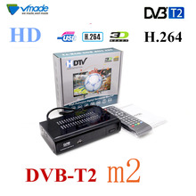 Vmade Newes full HD DVB T2 M2 Digital Terrestrial Receiver H.264/MPEG-2/4 YouTube with for HD TV Set-top Box  Multimedia Player sklz speedminton super 16 player set page 2