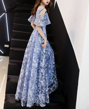 Banquet dress female noble and elegant dignified atmosphere female was thin and long summer 2019 ladies flower dress noble and elegant