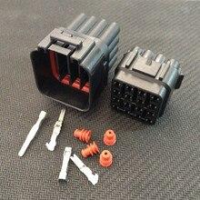 10 sets Kit 16 Pin Way Wasserdichte Elektrische Draht Stecker Stecker auto anschlüsse kostenloser versand