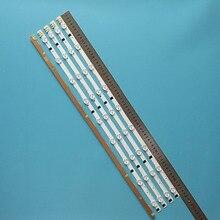 """5 יח\סט 9 נוריות 650MM חדש Led תאורה אחורית רצועת עבור Samsung 32 """"טלוויזיה D2GE 320SC0 R3 2013SVS32H 2013SVS32F CY HF320GEV5H"""