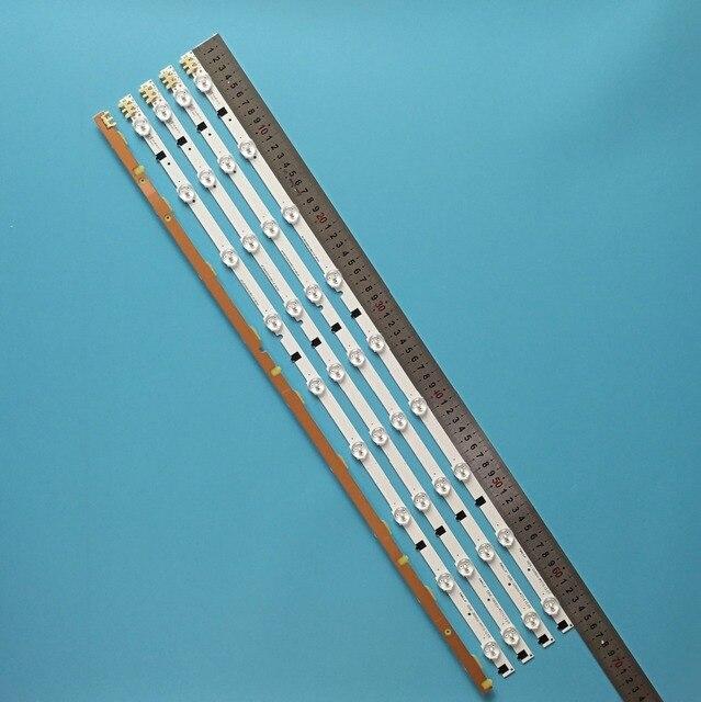 """5 Cái/bộ 9 Đèn LED 650 Mm Mới Đèn Nền LED Dây Cho Samsung 32 """"TV D2GE 320SC0 R3 2013SVS32H 2013SVS32F CY HF320GEV5H"""