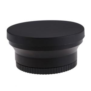 Image 3 - 67mm cyfrowy o wysokiej rozdzielczości 0.43x super szeroki kąt obiektyw do modeli canon Rebel T5i T4i T3i 18 135mm 17 85mm dla Nikon 18 105 70 300VR