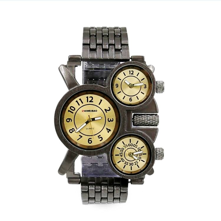 Mens Watches TOP Brand Luxury Quartz Watch Mens Hour Date Clock metal Strap Fashion Casual Watch Men Military Army Wrist Watch