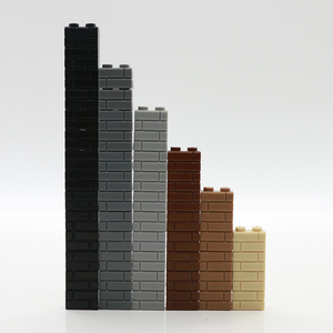 Image 5 - City Building Blocks Street Light Road Lamp Friends House Wall Accessories Pieces Mni Toys Military Bricks