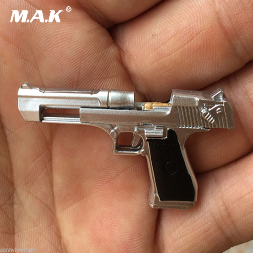 1:6 Scale Soldier Figure Gun Command Desert Eagle Pistol Handgun Weapon for 1/6 12 Action Figure image