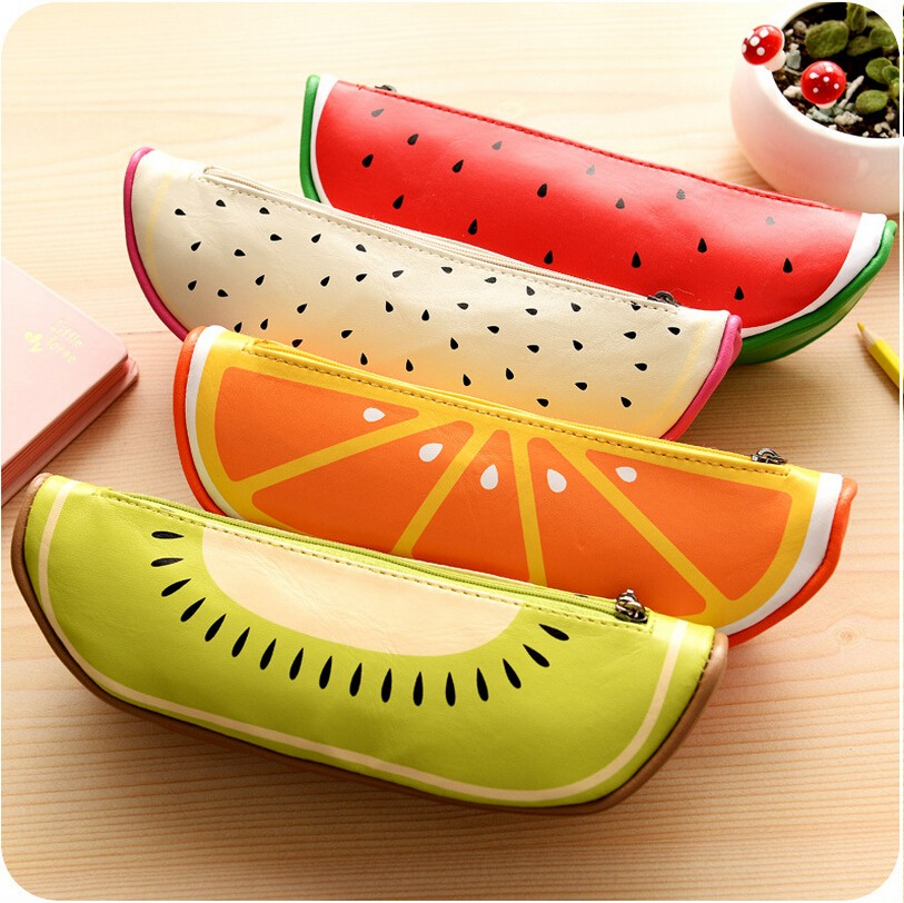 New-Arrival-High-Quality-School-Supplies-Cute-Oality-Fruit-Pattern-Pencil-Case-PU-Leather-Pencil-Bag
